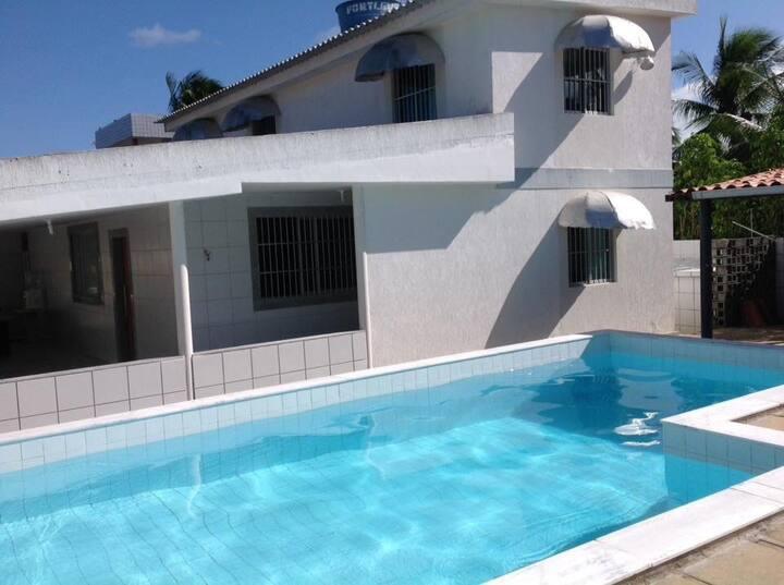 6 suítes com piscina em Porto de Galinhas 50m mar