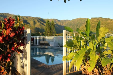 Mountain Ocean views - STUNNING! - Waihee-Waiehu - House