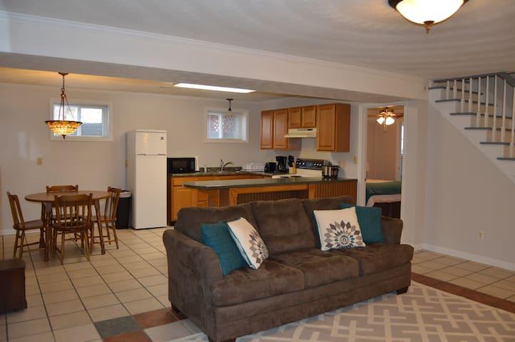 Spacious Basement Apt- Short Term - Lynchburg - Apartment