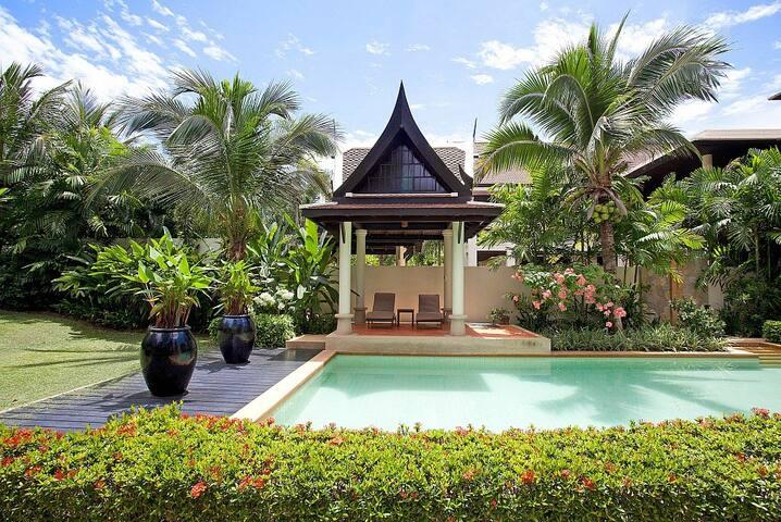 Stylish Layan Beach villa with pool - Phuket - Villa