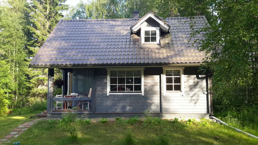 Täysin varustettu rantamökki - Kivijärvi - Casa de camp