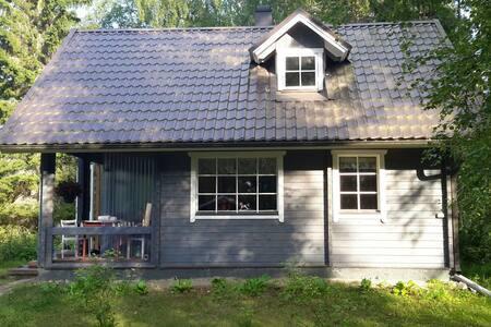 Täysin varustettu rantamökki - Kivijärvi - Villa