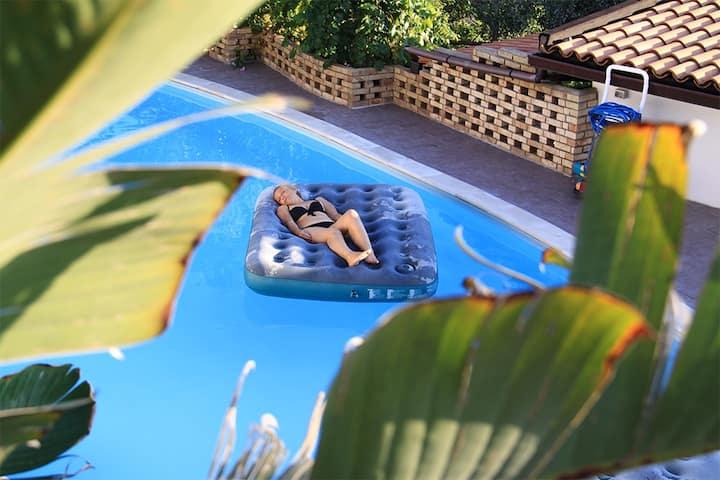 Villa Oasis near Taormina