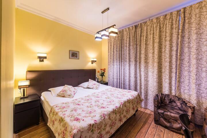 Апартаменты-Студия для 1 человека в центре