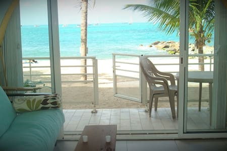 Superb condo ! Direct beach access  - 馬里戈特(Marigot) - 公寓