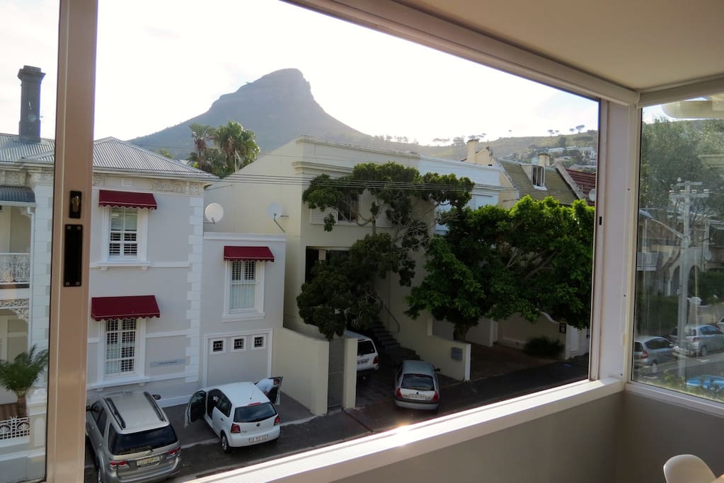 Lions Head views from the living room