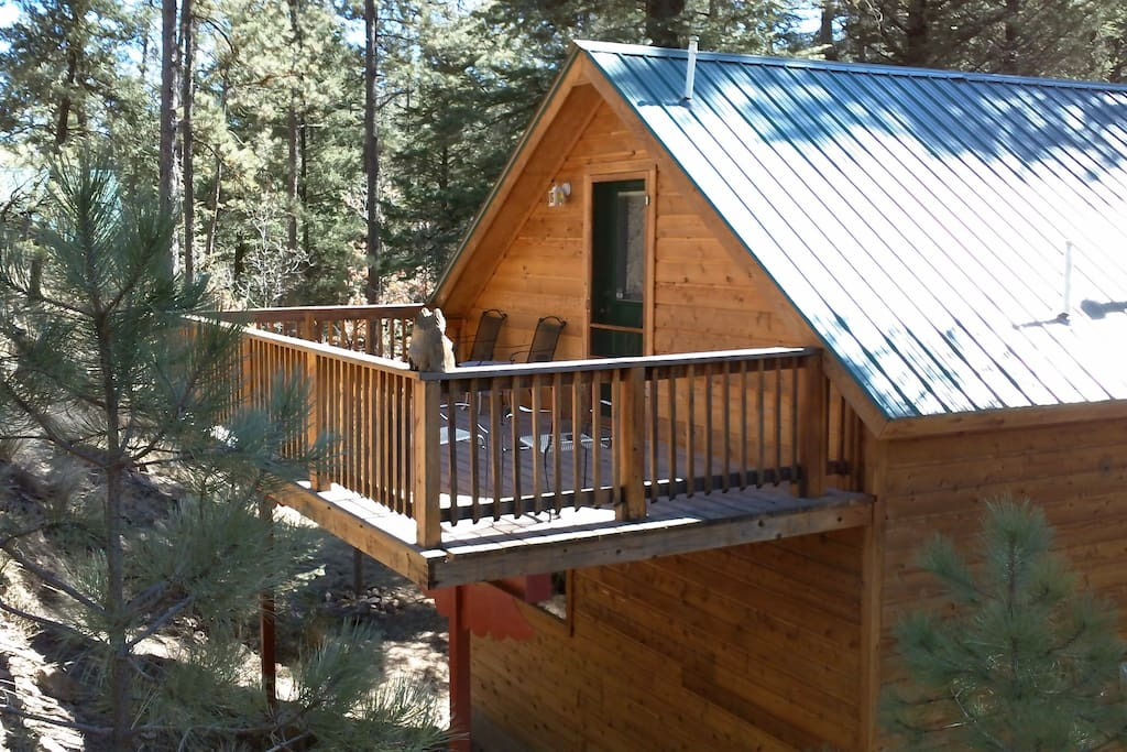Casa de angeles romantic nature retreat cabins for rent for 6 bedroom cabins in ruidoso nm