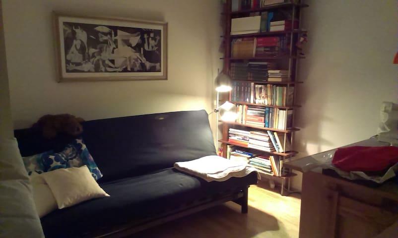 godt værelse med Futon - til én eller 2 personer