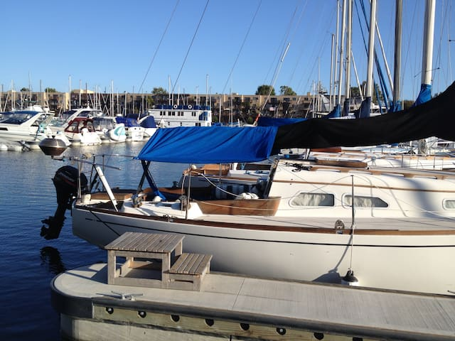 Spend time on my nice sailboat ! - Marina del Rey - Bateau