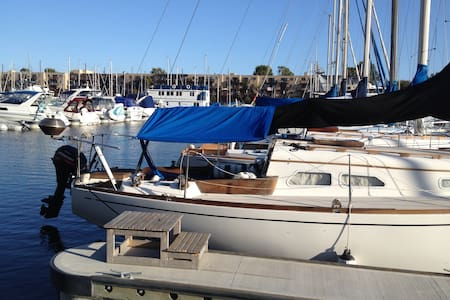 Spend time on my nice sailboat ! - Marina del Rey