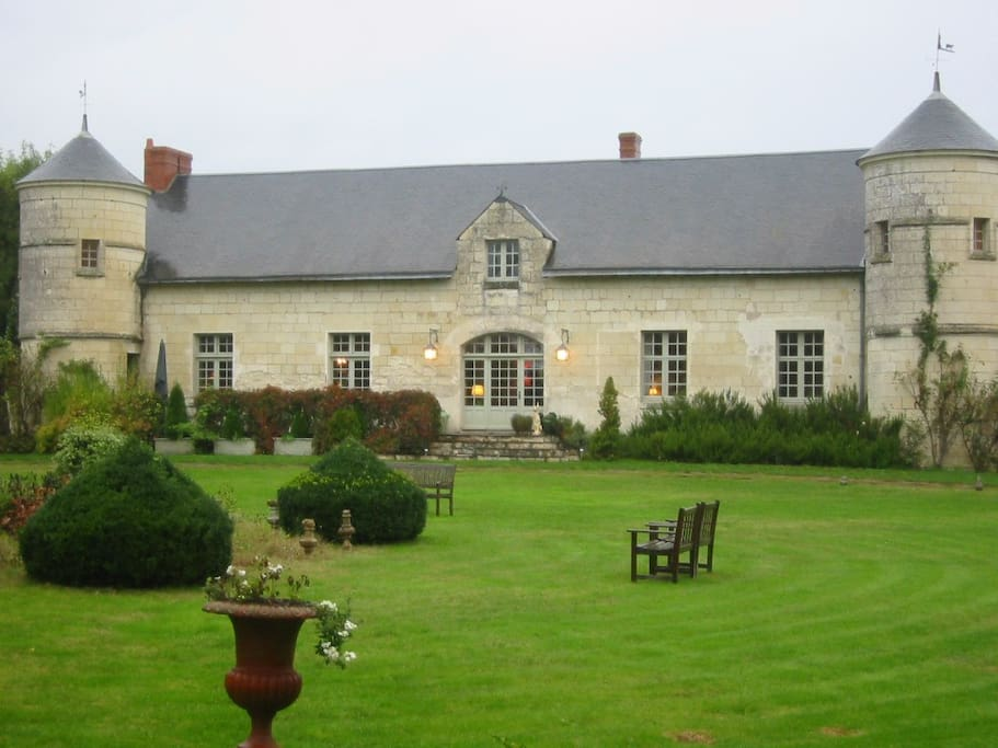 Le Manoir, 15th century set on 52 acres of land.