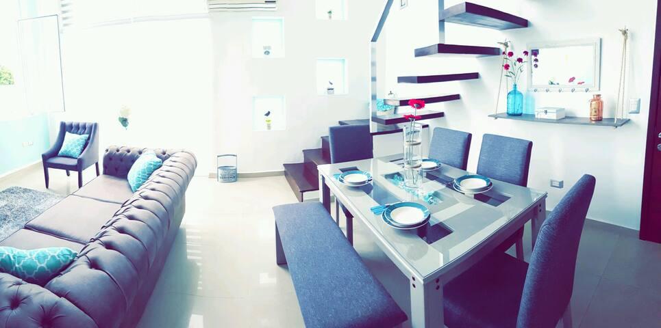 PentHouse, 185 m2,a 1 min del mar,alberca,jacuzzi - Playa del Carmen - Pis