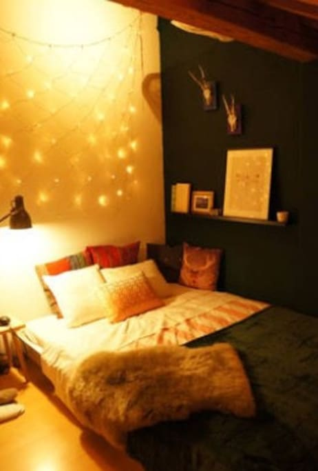 Your room: cosy and bright