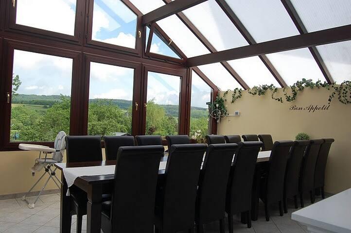 Vrijstaand Vakantiehuis Ardennen 15 pers - Nassogne - Casa