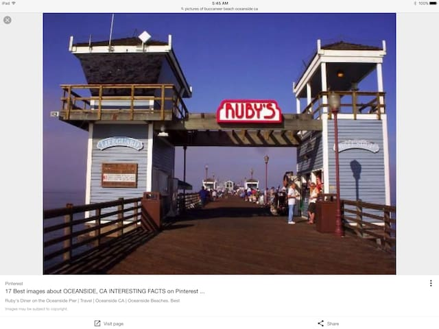 Ruby's Diner end of Pier