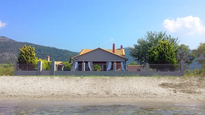 Unique Thasos Beach Villa