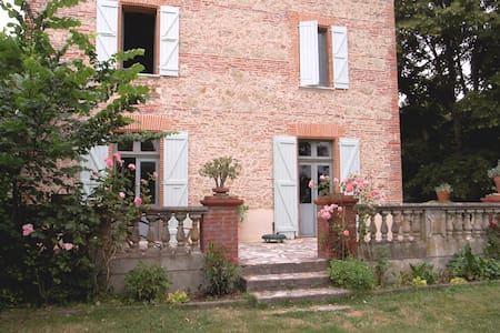 TOULOUSE RECTORY IN LISTED IN GERS  - Montpézat - House