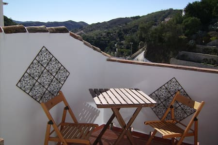 Townhouse in Salares white village - Casa
