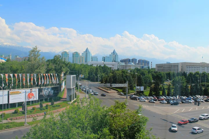 Amazing view apartment in the heart of Almaty 100%