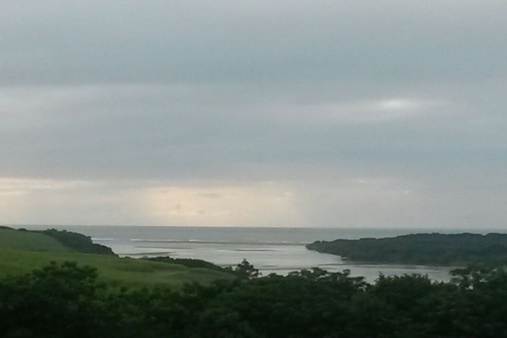 View of the estuary from the house