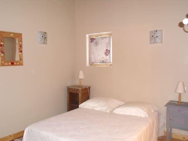 Belle chambre calme près de Valence - HOSTUN - Penzion (B&B)