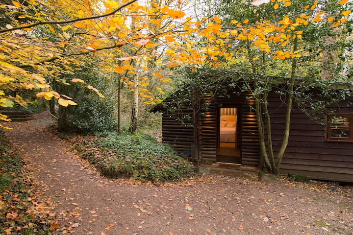 Pinetum Log Cabin