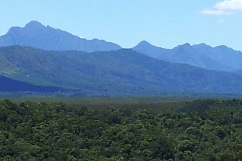 View from Elephant House over the Tzizikama National Park