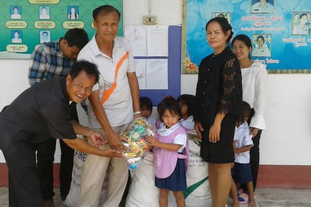Thailand Issan Volontary School all incluses