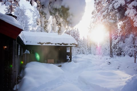 Rustic mountain cabin in Telemark