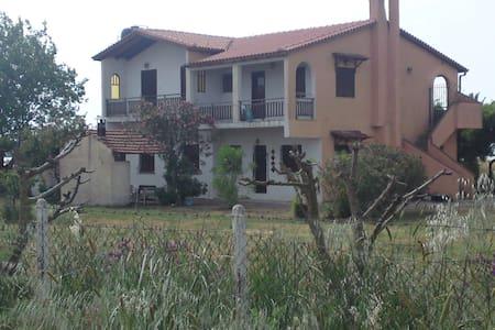 Εξοχική κατοικία 2 ορόφων - Νεοχώρι
