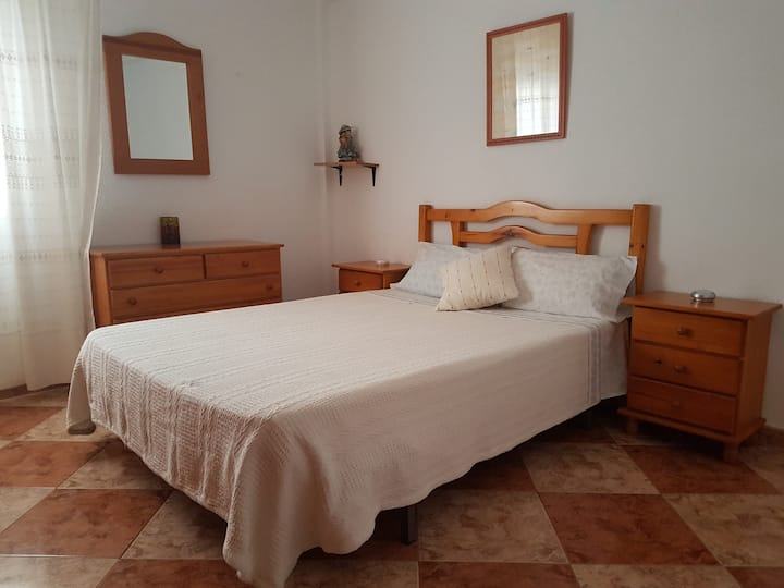 #1 Apt. in CADIZ Bay. 3 rooms. A/C+FREE WIFI