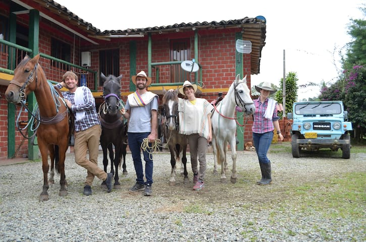 Come riding with us! we have horses on site for you to ride!