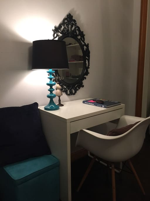 Small desk/vanity