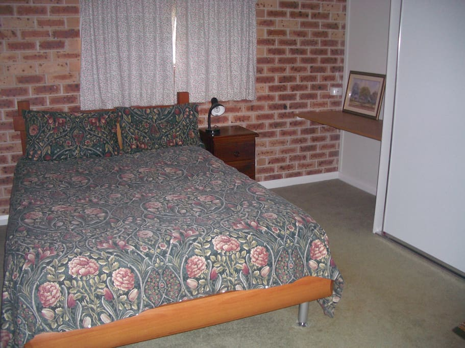 Large bedroom, comfy double bed.