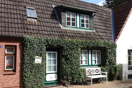 Das gemütliche Ferienhaus EfeuNest in der Altstadt - Friedrichstadt - Huis