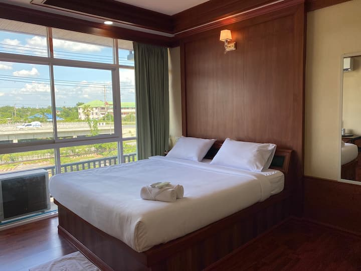 Lovely Double Room at Klong Sa Resort