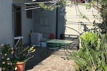 Area in comune cortile