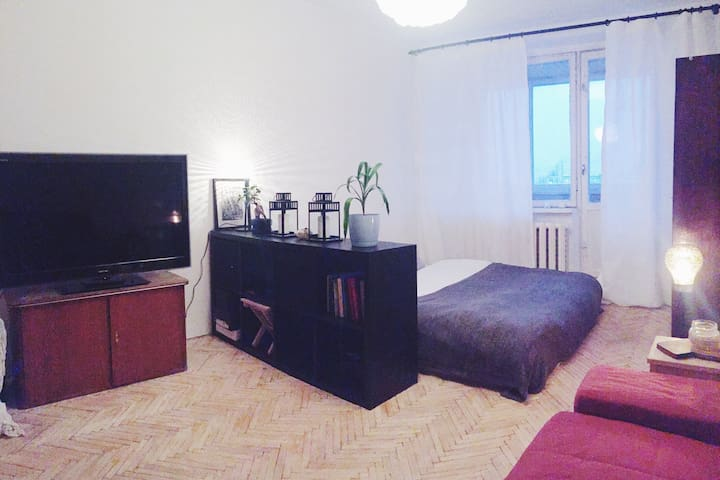 Warm and cosy top floor apartment! - Moskva - Apartment