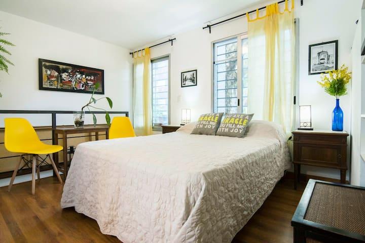 Hermosa Suite con Baño Privado