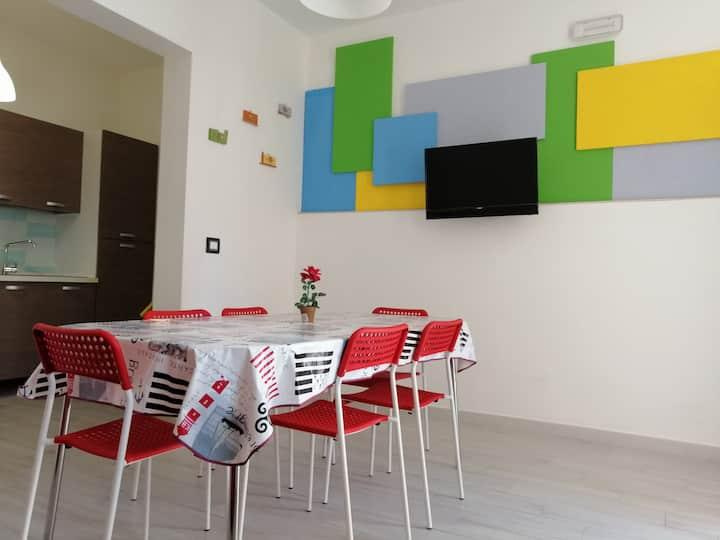 Casa GRECALE_100mt mare_Torre Lapillo