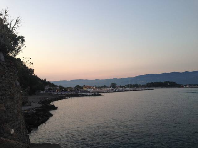 Ideale per un vacanza tra Liguria e Toscana