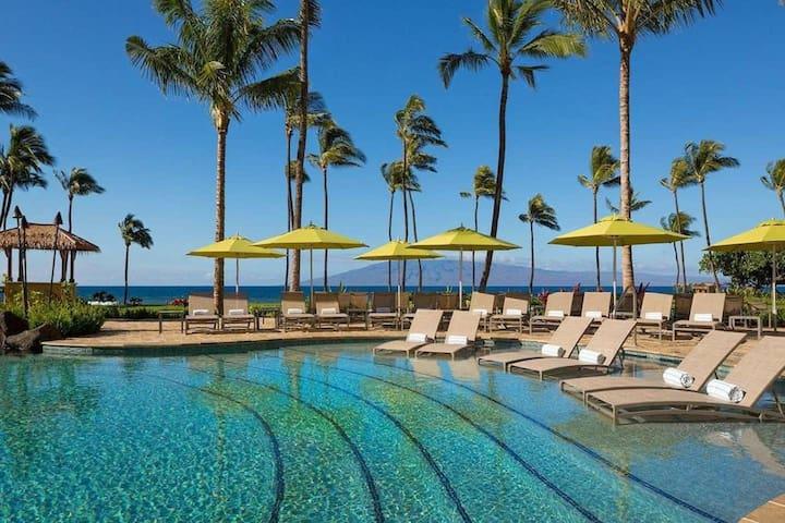 Maui Hyatt Residence Club, Ka'anapali beach 1 bdrm