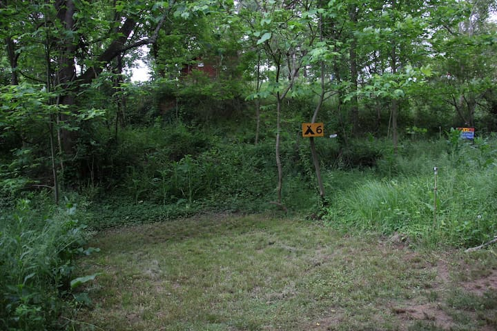 The Baying Hound Campground {Tent Site #6}