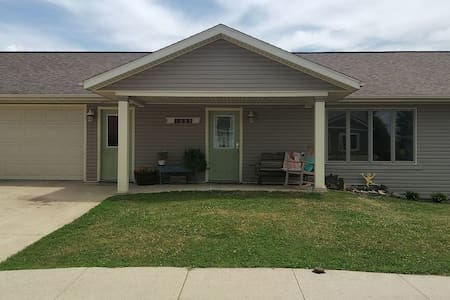 Zero entry ranch with Great Room. Kid-friendly.