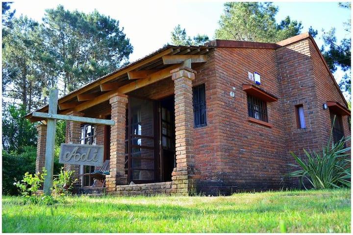 Cabaña Adi, para 4 personas en La Paloma, Rocha