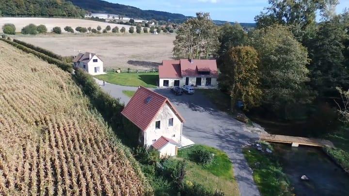 Au Moulin de Rotteleux  - bord de rivière