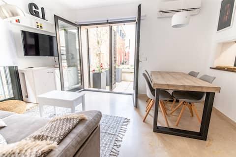 Can Pou, encantador alojamiento Barri Vell Girona