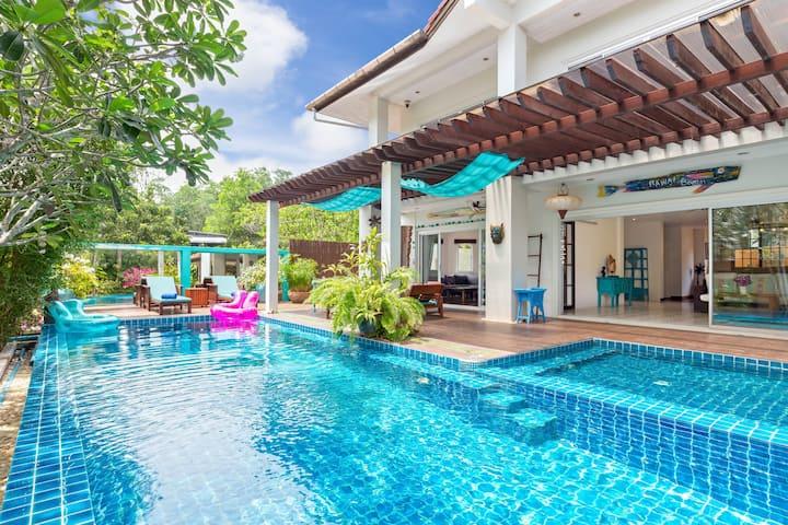 漂亮的三卧室泳池别墅,拉威