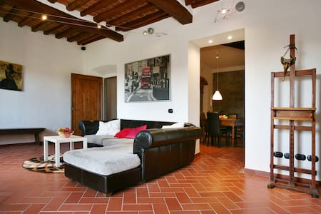 Lux Villa Florence Hill Apartment - San Casciano in Val di pesa - 公寓