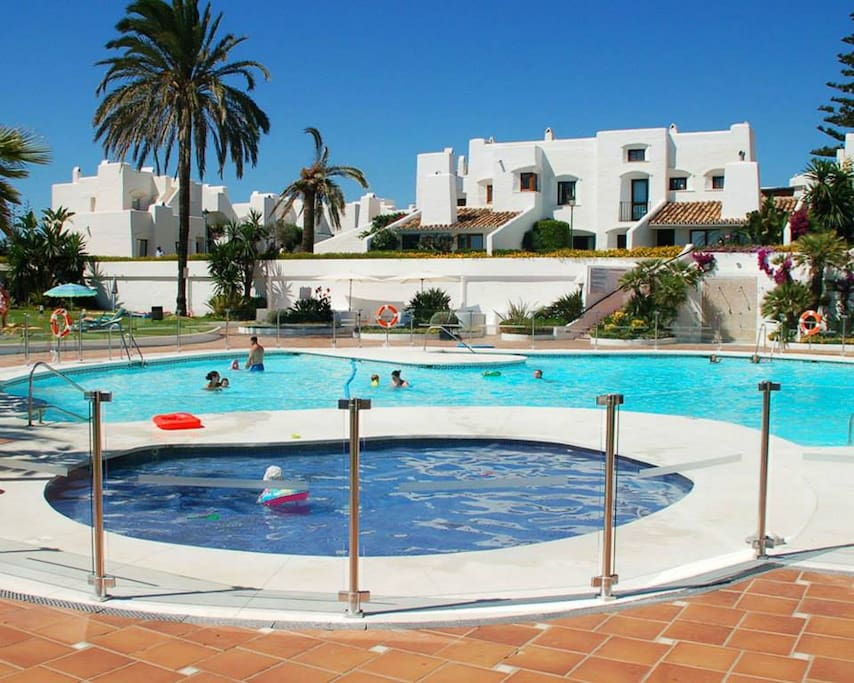 Main complex pool.